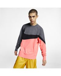 Nike - Sportswear French Terry Crew - Lyst