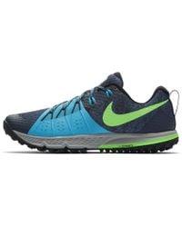 Lyst - Nike Air Zoom Wildhorse 4 Men s Running Shoe in Blue for Men 415965d3d