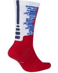 Nike - Elite Crew 4th Of July Basketball Socks - Lyst