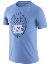 e7a881d6f418 Lyst - Nike College Modern Crew (unc) Men s Shirt in Blue for Men
