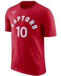 2f2bc1667bf Lyst - Nike Toronto Raptors Dry Men s Long Sleeve Nba T-shirt in Red ...