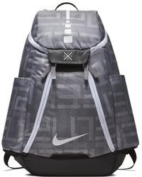 3af1e2408480 Nike - Hoops Elite Max Air Team 2.0 Graphic Basketball Backpack (grey) -  Lyst