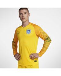 Nike - 2018 England Stadium Goalkeeper Football Shirt - Lyst