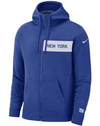 3048d0041187 Nike Sportswear Full-zip Hoodie in Blue for Men - Lyst