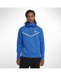 09550c7c63 Nike - Sportswear Tech Icon Windrunner Men s Full-zip Hoodie - Lyst