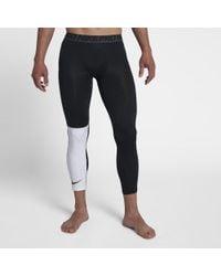 new product ba21b 52a9f Nike - Pro Mens 34 Training Tights - Lyst