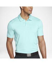 79f5f12d33 Nike Tw Control Stripe Men's Standard Fit Golf Polo Shirt in Gray ...