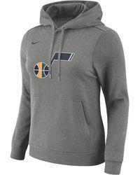 Nike - Utah Jazz Women's Fleece Nba Hoodie - Lyst