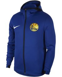 9dd1993ed Nike Denver Nuggets Therma Flex Showtime Nba Hoodie in Blue for Men ...