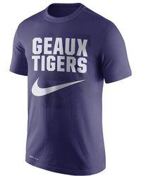 Nike - Dri-fit Legend College (lsu) Men's T-shirt - Lyst
