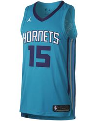 Nike - Kemba Walker Icon Edition Authentic Jersey (Charlotte Hornets) Jordan NBA Connected Trikot für Herren - Lyst