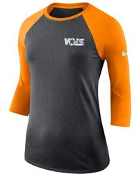 Nike - College (tennessee) 3/4 Sleeve T-shirt - Lyst