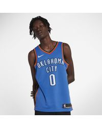 df6ced00c Nike - Russell Westbrook Icon Edition Swingman (oklahoma City Thunder) Nba  Connected Jersey -