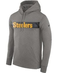 bb0c537b4cd78 Lyst - Nike Therma-fit Nfl Graphic Sleeveless Hoodie in Gray for Men