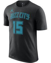 343b816bed86 Nike - Kemba Walker Charlotte Hornets City Edition Jordan Dri-fit Nba T -shirt