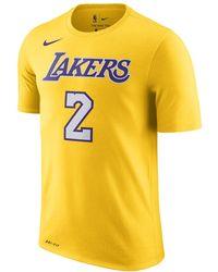 be7842bdb36 Lyst - Nike Kyle Kuzma Los Angeles Lakers Dri-fit Men s Nba T-shirt ...