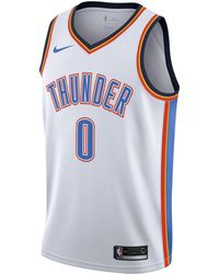 b4dc5565e7dae9 Nike - Russell Westbrook Association Edition Swingman (oklahoma City  Thunder) Nba Connected Jersey -