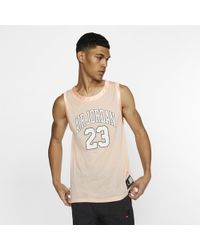9c982638a8cb Nike Jordan Dna Distorted Basketball Jersey in Red for Men - Lyst