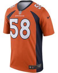cf6bb1b1b Nike - Nfl Denver Broncos Legend (von Miller) Men s Football Jersey - Lyst
