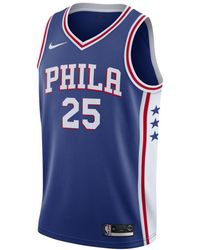 eec8a4923 Nike - Ben Simmons Icon Edition Swingman (philadelphia 76ers) Nba Connected  Jersey - Lyst