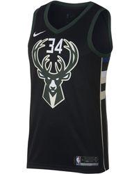 8a0db85c952 Nike - Giannis Antetokounmpo Statement Edition Swingman (milwaukee Bucks) Nba  Connected Jersey - Lyst