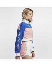 1d4976936299 Nike - Sportswear Archive Women s Track Jacket - Lyst