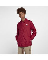 a555ee60b6af4 Nike Sb Shield Coaches Jacket in Brown for Men - Lyst
