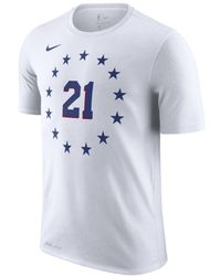 638957c70 Nike - Joel Embiid Philadelphia 76ers City Edition Dri-fit Nba T-shirt -