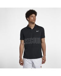 Nike - Court Dri-fit Graphic Tennis Polo - Lyst