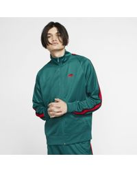 1822f6ae2 Nike Sportswear Windrunner Jacket in Green for Men - Save 56% - Lyst