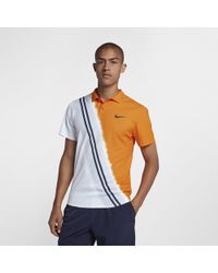 0ddb06a6c Nike Court Dri-fit Team Tennis Polo in Red for Men - Lyst