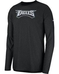 Lyst - Nike Dri-fit Legend On-field (nfl Eagles) Men s T-shirt in ... 10dc53b73