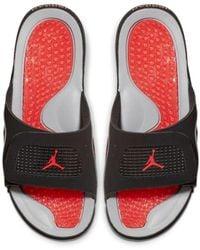 best website ee75f 63ed3 Nike - Jordan Hydro 4 Retro Slide - Lyst