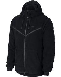 Nike Sweatà capuche en Sherpa Sportswear Windrunner Tech Fleece pour