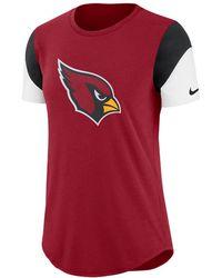 Nike - Team Fan (nfl Cardinals) Women's Tri-blend T-shirt - Lyst