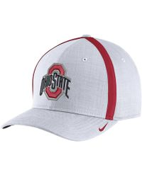 Nike | College Aerobill Sideline Coaches (ohio State) Adjustable Hat (white) | Lyst