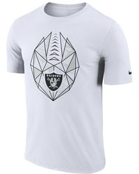 check out 4f598 92cd6 Nike - Dri-fit Icon (nfl Raiders) Men s T-shirt - Lyst