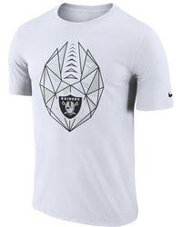 check out 535de 8b0ea Nike - Dri-fit Icon (nfl Raiders) Men s T-shirt - Lyst