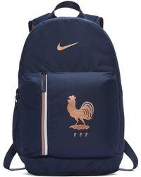 ec321b7a3b800 Nike Paris Saint-germain Stadium Football Backpack in Blue - Lyst