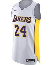 0768130bb1ffbe Nike - Kobe Bryant Association Edition Authentic (los Angeles Lakers) Nba  Connected Jersey -