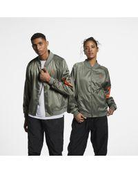 5cd7f1a70284 Nike Jordan X Psny Tech Trench Jacket in Green for Men - Lyst