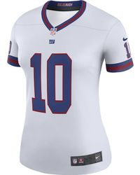 new styles e03cd 7ce81 Lyst - Nike Nfl New York Giants (eli Manning) Women's ...