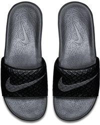 Nike - Claquette Benassi Solarsoft 2 pour - Lyst