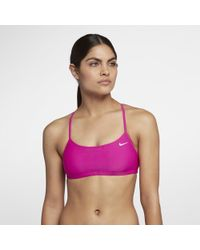 Nike - Solid Racerback Women's Swim Top - Lyst