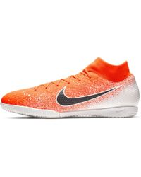 38608b090 Nike Superflyx 6 Academy Ic Indoor Football Trainers in Yellow for ...