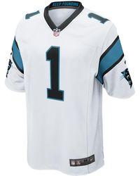 Nike - Nfl Carolina Panthers (cam Newton) Men's Football Away Game Jersey - Lyst