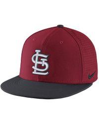 b4ed11c3 Lyst - Nike True Dri-fit Logo (mlb Cardinals) Adjustable Hat (red ...