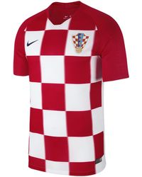 Nike - 2018 Croatia Stadium Home Football Shirt - Lyst