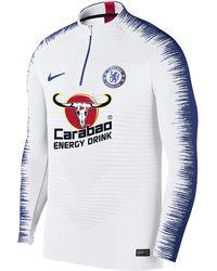 95b6e4d60 Nike - Chelsea Fc Vaporknit Strike Drill Long-sleeve Football Top - Lyst