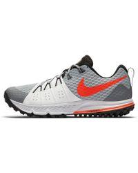 1a1158b3ea158 Lyst - Nike Air Zoom Wildhorse 4 Trail Running Shoe in Black for Men